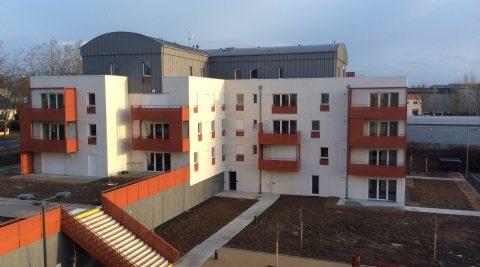 60 logements Résidence du Théatre