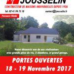 PORTES OUVERTES du 18 au 19 Novembre 2017 à CHATEAUBRIANT