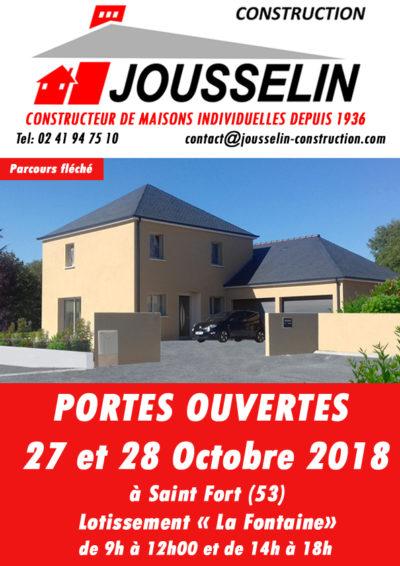 PORTES OUVERTES SAINT FORT (53) 27 et 28 Octobre 2018